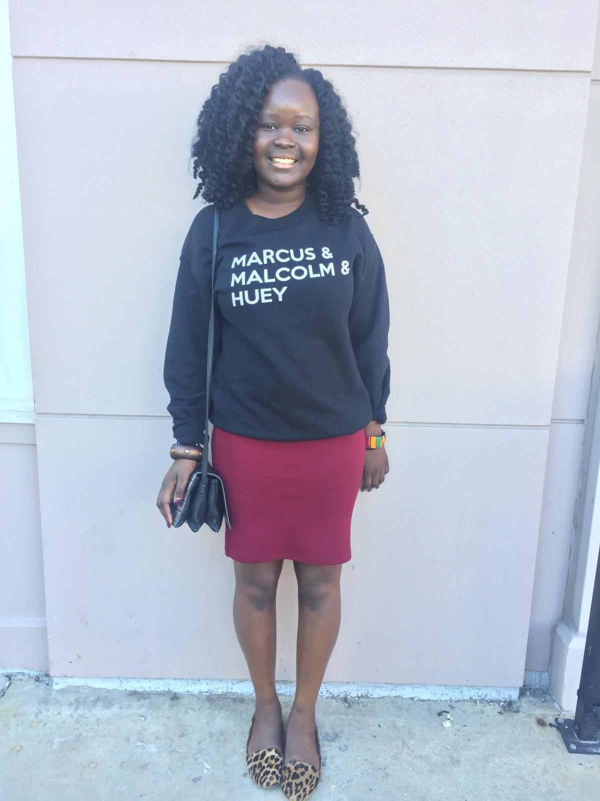bad ass black girl. DetroitEdition